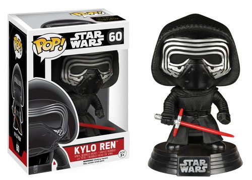 From Star Wars: Episode VII - The Force Awakens comes Kylo Ren as portrayed by actor Adam Driver.  It stands about 3 3/4-inches tall on a decorative platform, and comes in a collectible window box. #nesteduniverse