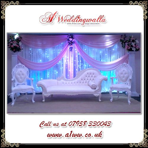 A1 Weddingwalla is one of leading Asian #Wedding Stage #Decoration service provider in UK. For booking call us at 07958 330043 or visit http://www.a1ww.co.uk. #AsianWedding #StageDecoration