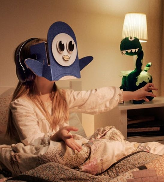 Samsung's Bedtime VR Stories lets you tell virtual reality bedtime stories