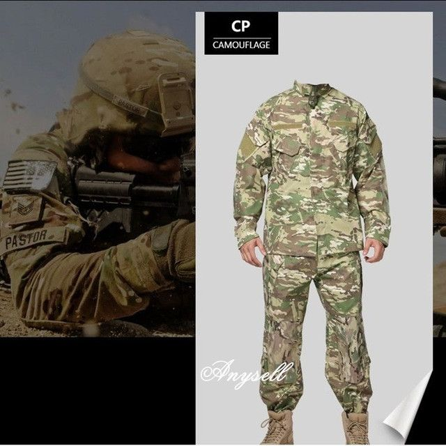 Army military camouflage military bdu combat uniform us army men clothing set
