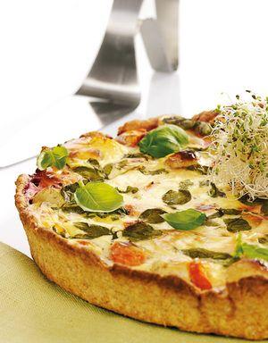 God og mettende middagspai! Paien kan varieres med ulike typer grønnsaker og evt…