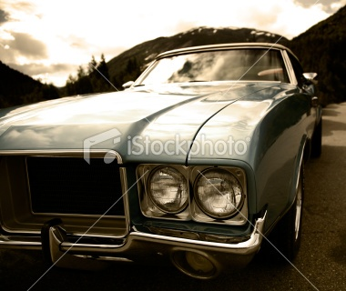 American Classic Royalty Free Stock Photo