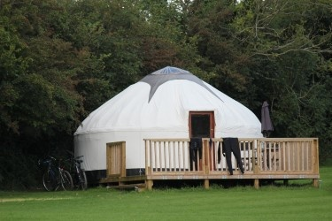 Luxury Cornish Yurts .... we stayed here last year with the children hiring all 3 yurts with friends.  It was an amazing place, lots of happy memories made and most of all excellent yurts, facilities and hosts. Want to go back this year !!