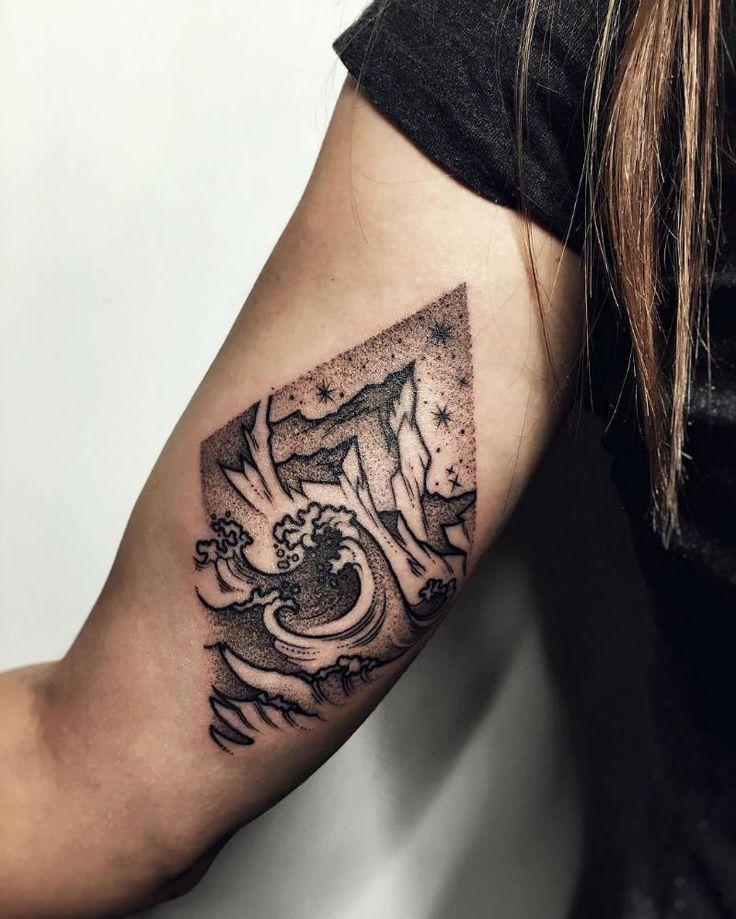 16 Atemberaubende Tattoos von Sasha Kiseleva