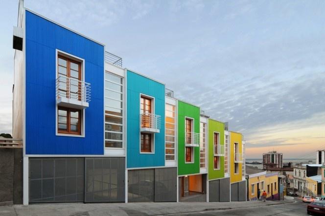 Lofts YUNGAY II à Valparaiso - Chili par REARQUITECTURA // © Rearquitectura