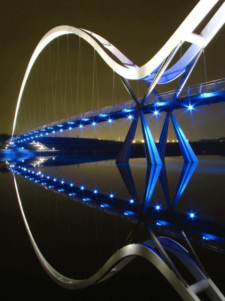 Infinity Bridge, Stockton on Tees England