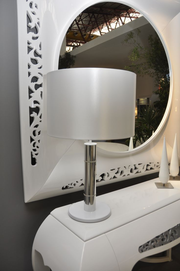 Stunning Dallas table lamp by Castro Lighting.  See all collection on www.castrolighting.com