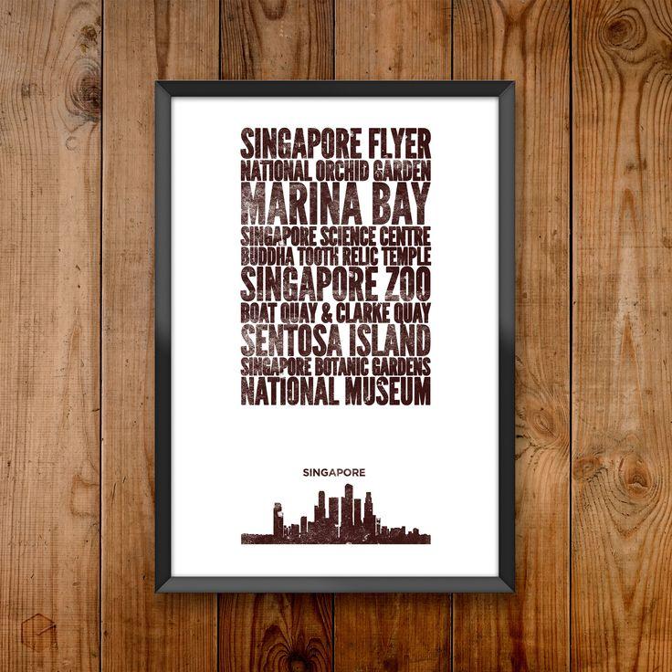 Singapore City Print