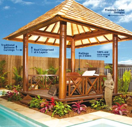 c83e40852ac7d52bee190d3987f80644--garden-huts-bali-garden Backyard Ideas Tropical Looking on vintage room ideas, cheap crown molding ideas, tropical beach landscape, landscape edging ideas, patio gazebo ideas, small area landscaping ideas, tropical pools, tiered landscape design ideas, square gardening ideas, florida landscaping ideas, cheap garage ideas, small home design ideas, outdoor gazebo decorating ideas, cottage style porch ideas, mexican style patio decorating ideas, island decorating ideas, southern california landscape ideas, tropical outdoor kitchen, palm tree landscaping ideas, tropical outdoor rooms,