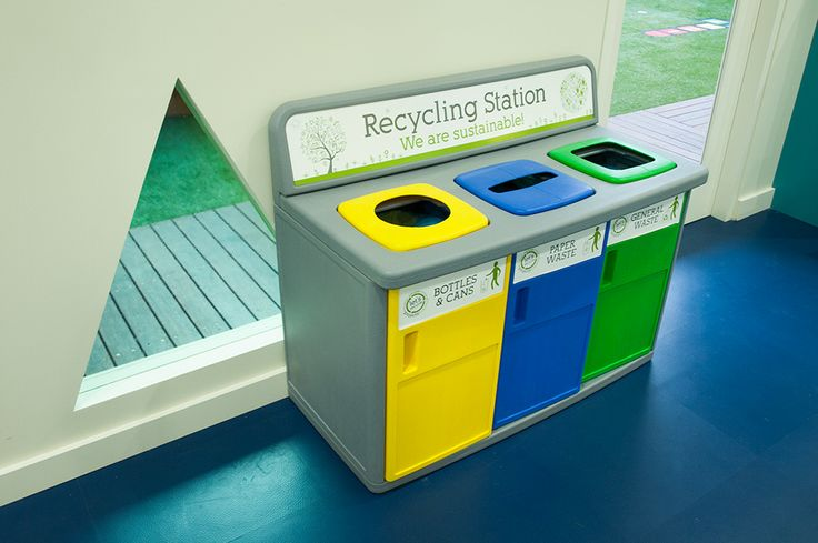 Children's Recycling Stations at Greenwood Concord. We like to teach our children to recycle!  www.greenwood.com.au