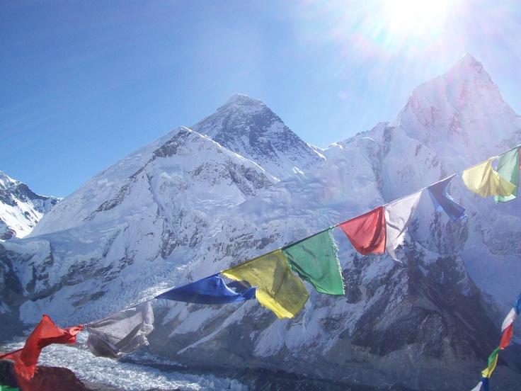 View of Everest from Kalapathar