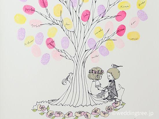 ウェディングツリーデザインライン・リトルハピネス - ウェディングツリー販売・The Wedding Tree (ウェディングツリー)produced by Fleur