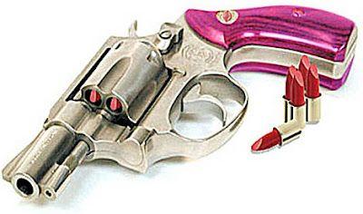 hahaha love the lipstick ammo