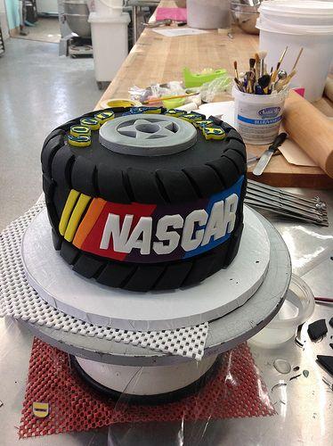 Nascar Groom's Cake | Flickr - Photo Sharing!