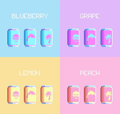 Choose Your Flavour : VaporwaveAesthetics