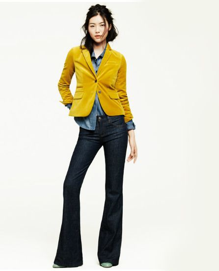 That Mustard Yellow Velvet Jacket Is To Die For! | What To Wear | Pinterest | 5 Years Blazers ...