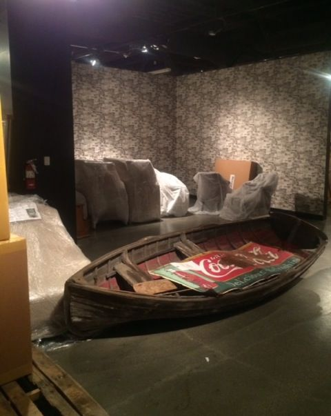 Setting Up For Las Vegas Market Summer 2015 Andrewmartin Interiordesign Decor