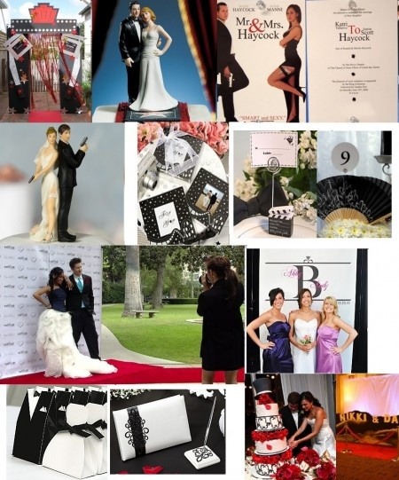 1000 images about decoration mariage cinema on pinterest hollywood tables and golden shoes. Black Bedroom Furniture Sets. Home Design Ideas