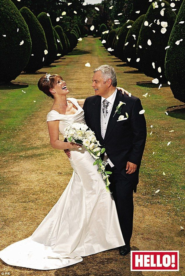 Love: Eamonn married wife and co-presenter Ruth Langsford in 2010