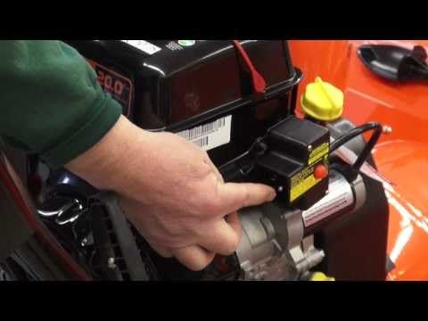 How to Start Ariens Snowblower - YouTube