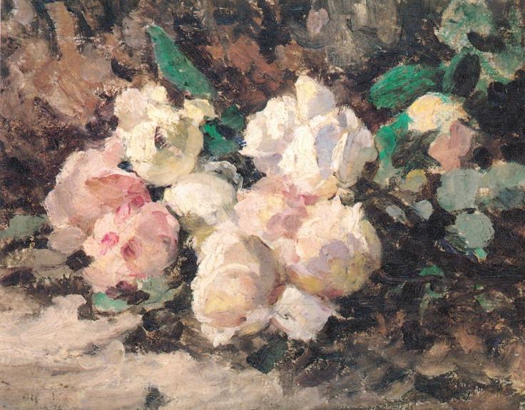 """""""Rozas"""" Juan Francisco González. Óleo sobre tela (42x33). También destacó por ser uno de los primeros pintores modernos de Chile. Símbolo de las nuevas generaciones creativas a las que se vio enfrentada el Chile del siglo XX, su estilo es muy semejante al impresionista pero no en su plenitud."""
