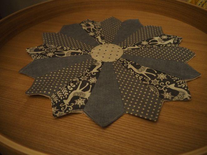 Christmas Dresdner plate