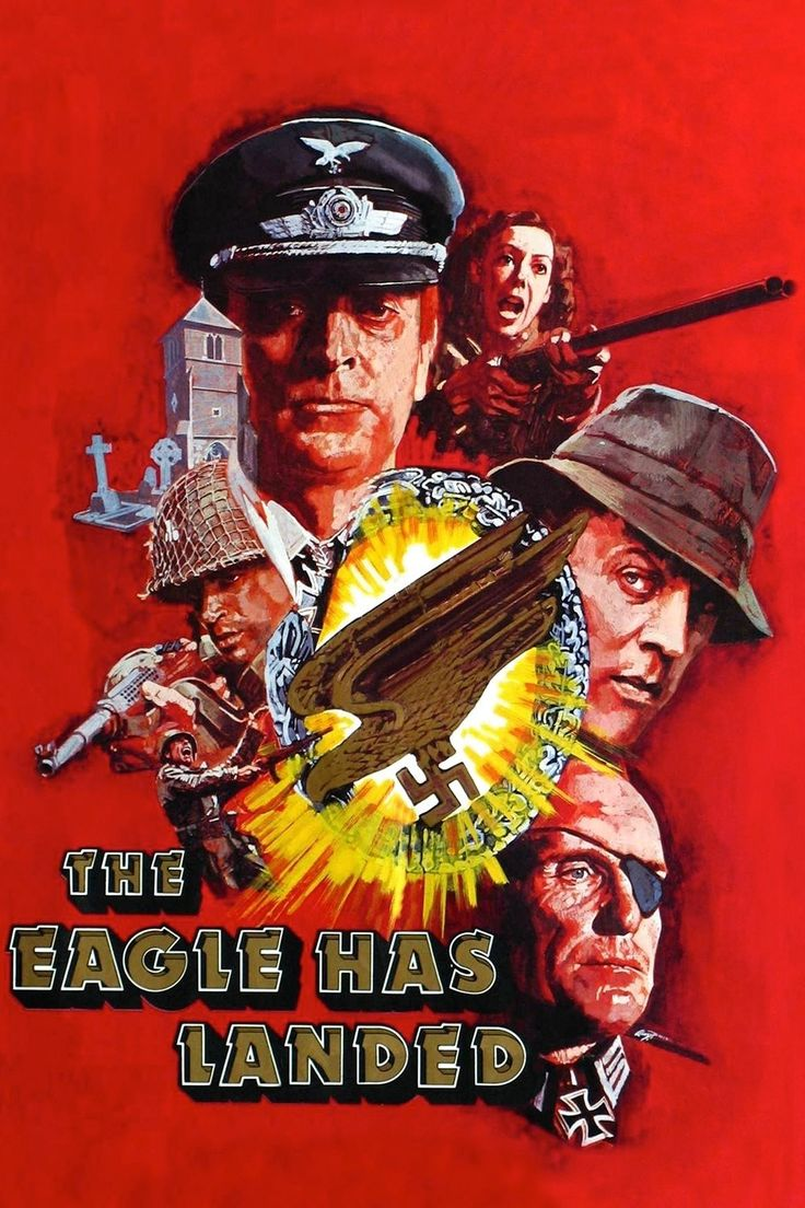 The Eagle Has Landed (1976) (John Sturges)   MOVIE POSTERS ...
