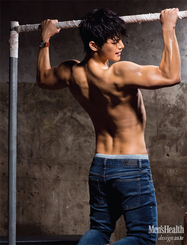 More of Workout Boy Seo In Gook In Men's Health's September 2013 Issue : Couch Kimchi