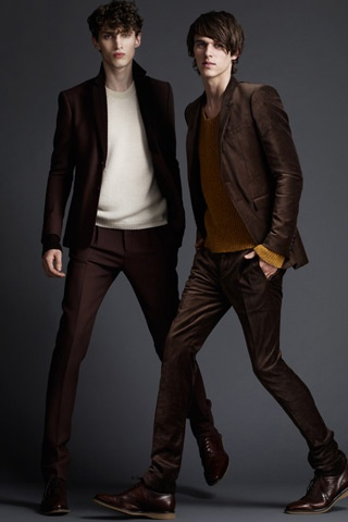 burberry prorsum has attractive male models OMG