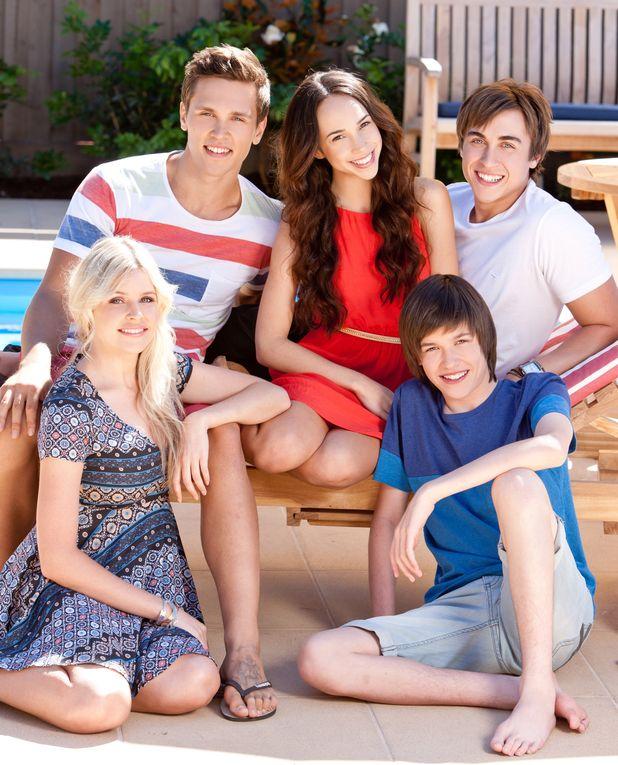 Amber, Josh, Imogen, Mason & Bailey #Neighbours