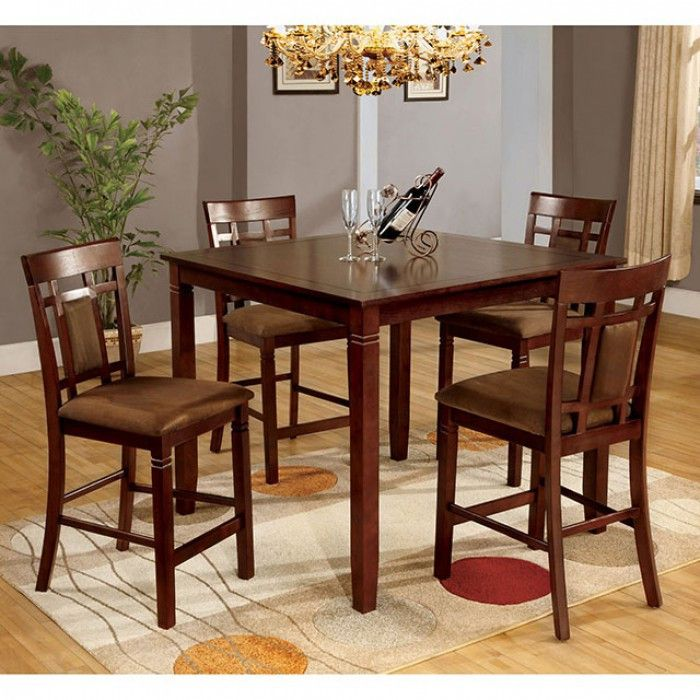Counter Height Table 6 Chairs Montclair I Collection CM3930T 7PK Furniture SaleDining