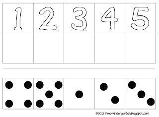 counting 1-5 great for beginning of school year