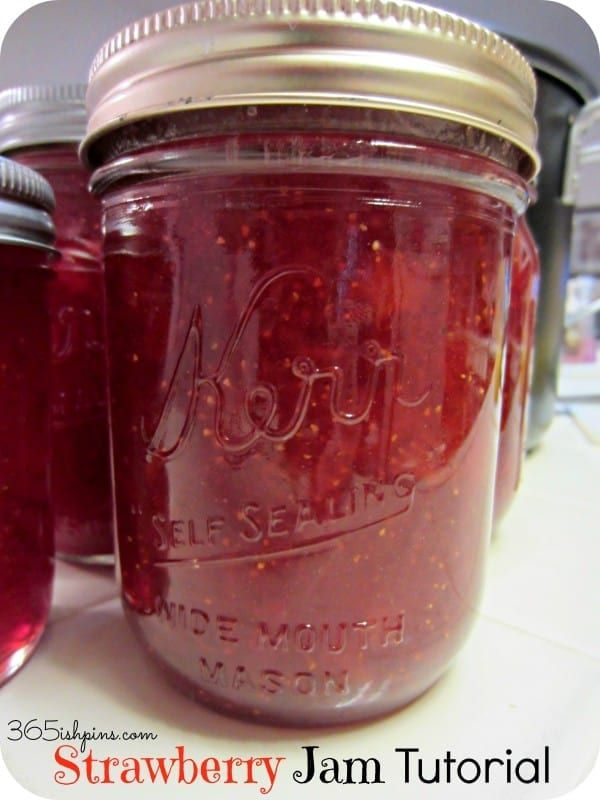 Day 340: Strawberry Jam Tutorial – Simple and Seasonal