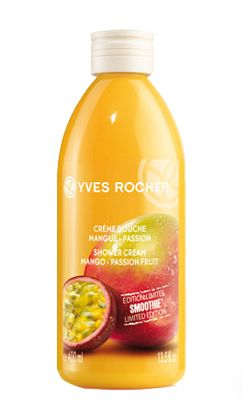 What's the next best thing to a tropical beach vacation? Body products that smell like one: Yves Rocher Mango Passion Fruit Smoothie Shower Cream http://beautyeditor.ca/2012/08/13/whats-the-next-best-thing-to-a-tropical-beach-vacation-body-products-that-smell-like-one/