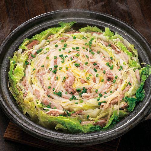 豚バラ白菜鍋- おすすめレシピ   ダイエー[ごはんがおいしくなるスーパー]
