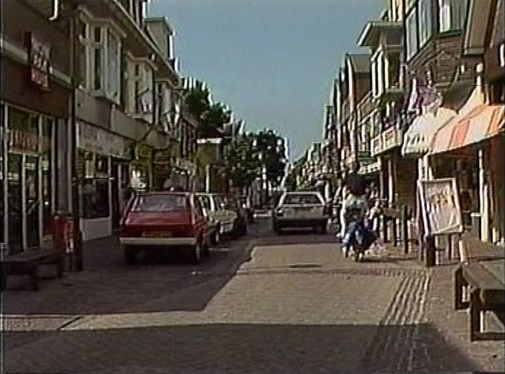 Zijdstraat Aalsmeer (jaartal: 1980 tot 1990) - Foto's SERC