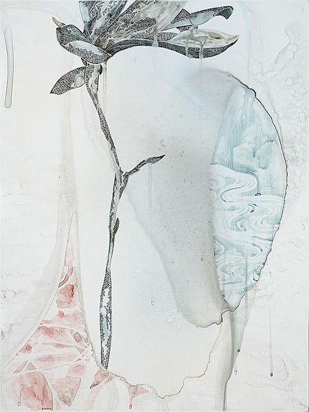 Belinda Fox, Title: Too Deep II, 2011. Size: 61 x 46 cm. Medium: Watercolour, drawing on board