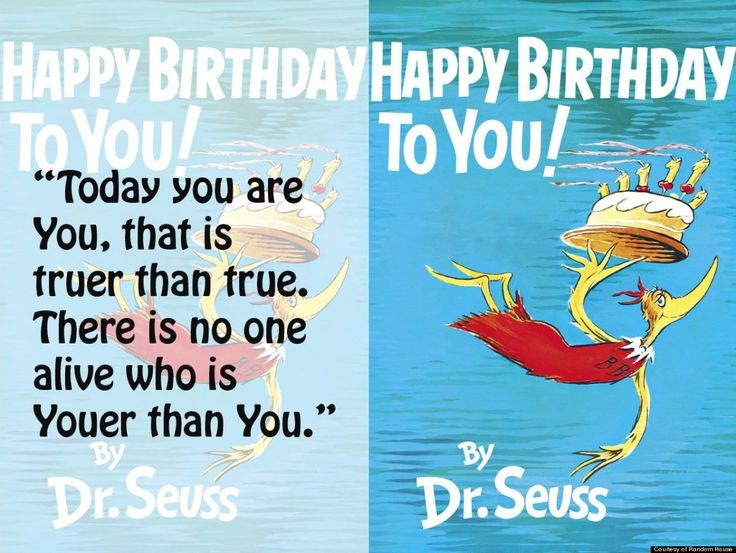 Birthday Quotes For Doctors: Dr Seuss Birthday Quotes. QuotesGram