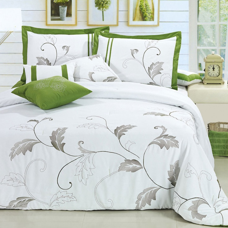 Want itFoliage, Comforter Sets, Luxury Beds, Colors Schemes, Piece Comforters, Bedrooms, Design, Bags, Comforters Sets
