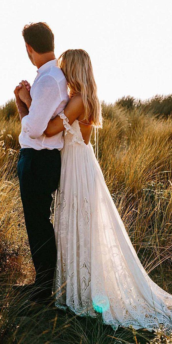 24 Unforgettable Beach Destination Wedding Dresses