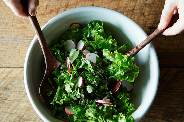 How to Make a Better Leafy Salad Without a Recipe on Food52.