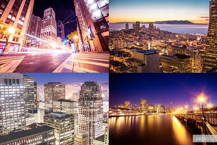 Ночной Сан-Франциско / Photo / Yagiro - сайт о дизайне и для дизайнеров