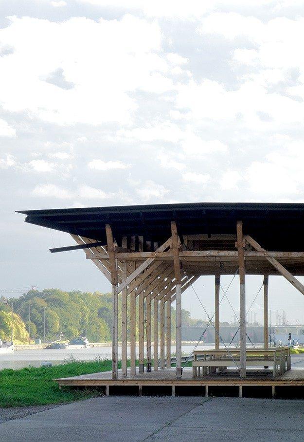 Atelier Amont, Paviljoen De Unie - Atlas of Places