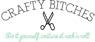 Crafty Bitches - Blog DIY, Couture, Déco, Vintage. Tuto couture, Do it yourself, décoration, rétro.