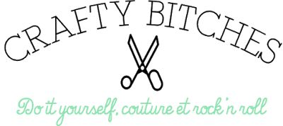 Crafty Bitches - Blog DIY, Couture, Déco, Vintage. Tuto couture, Do it yourself, décoration, rétro.