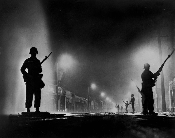50 Years Ago Today – Historical Photographs from the Watts Riots in August, 1965, Los Angeles, USA