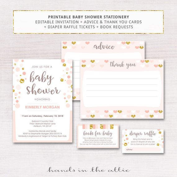 51 best instant baby shower invites & cards images on pinterest, Baby shower invitations