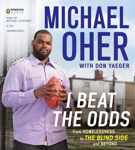What book did micheal from the movie blindside write an essay about?
