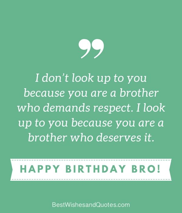 Happy Birthday Wishes Brother
