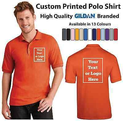 #Custom #printed polo shirt unisex personalised stag workwear #event gildan polo,  View more on the LINK: 	http://www.zeppy.io/product/gb/2/281800616576/